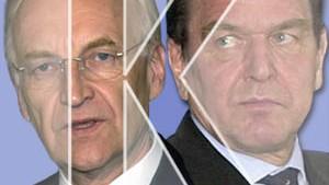 Schröder gegen Stoiber: Der Vergleich