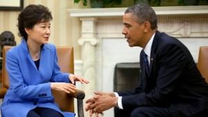 Härte und Dialog mit Nordkorea