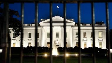 Für gute Kletterer ist der Zaun des Weißen Hauses offenbar nicht unüberwindbar
