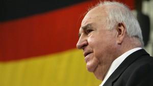 Nachlass von Helmut Kohl kommt in eigene Stiftung