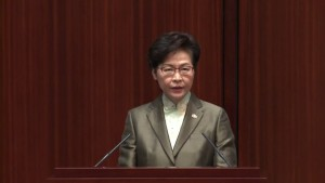 Hongkonger Regierungschefin Lam wegen Flüchtlingen unter Druck
