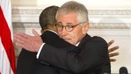 Obamas Verteidigungsminister tritt zurück
