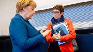 Widerstand in der SPD gegen eine Kanzlerin Kramp-Karrenbauer