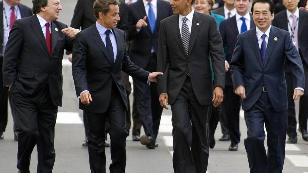 """G-8 wollen """"arabischen Frühling"""" unterstützen"""
