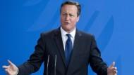 Cameron bleibt mit Änderungswünschen allein