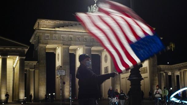 Vertrauen in Amerika trotz Biden verschwunden