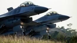 Amerika verkauft 66 F-16-Kampfflugzeuge an Taiwan
