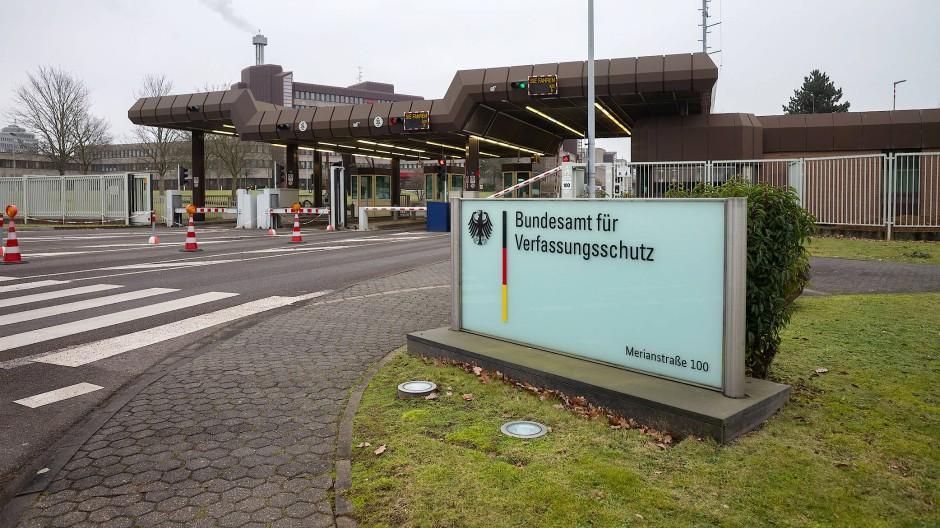 Das Bundesamt für Verfassungsschutz in Köln
