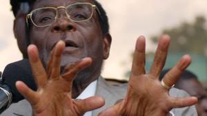 Steinmännchen für Zimbabwe