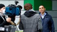 Biontech-Mitgründer Ugur Sahin in einem TV-Interview