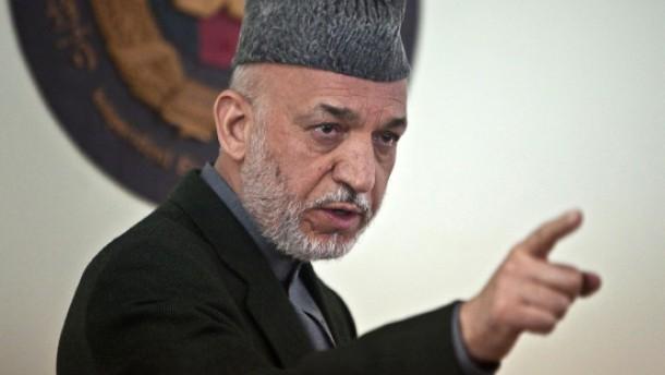 Brief Nach Afghanistan : Afghanistan karzai rückt weiter vom westen ab ausland faz