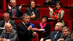File photo French Junior Minister for Budget Jerome Cahuzac speaks during the questions to the government session at the National Assembly in Paris