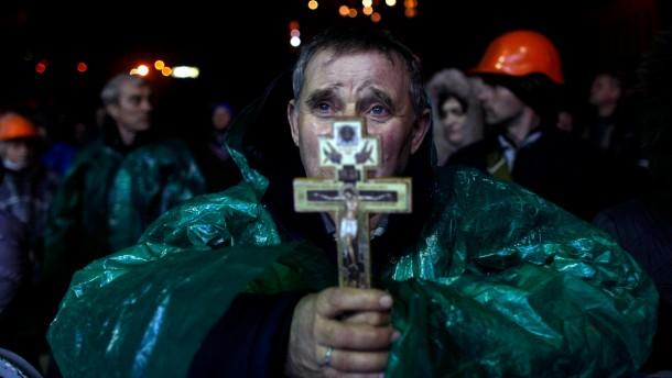 Janukowitsch stimmt Waffenstillstand zu
