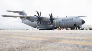 Bundeswehr testet neues Transportflugzeug