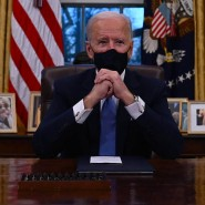 Am Resolute Desk: Bidens Dekrete sind Balsam auf Demokraten-Seelen