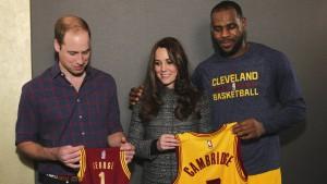 Kate und William treffen Amerikas Ersatz-Royals