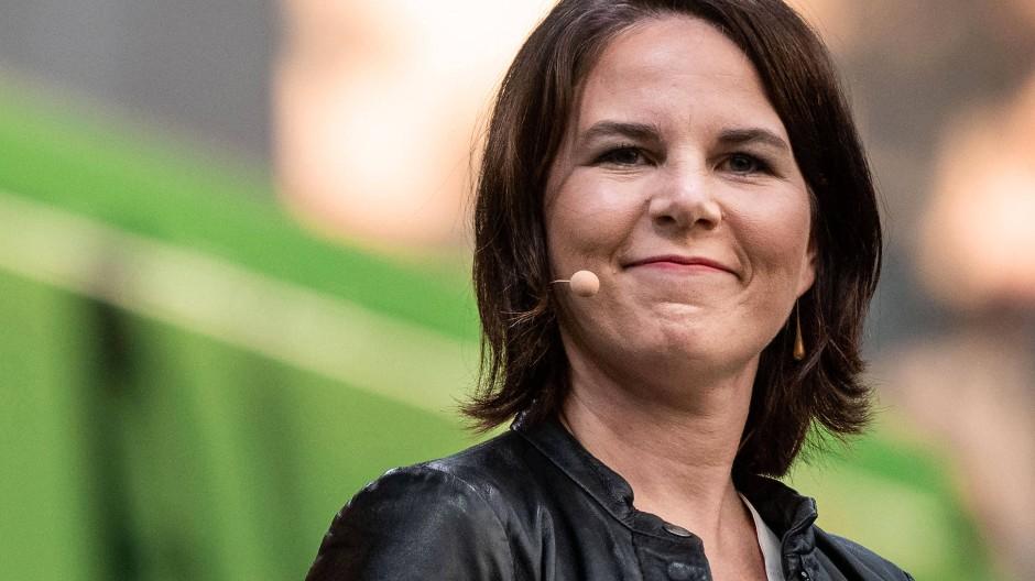 Annalena Baerbock am 10. August in Duisburg