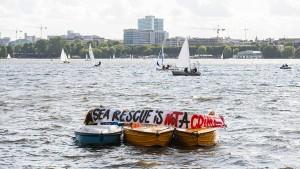 Knapp drei Viertel der Deutschen finden private Seenotretter gut