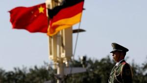 Die naive China-Politik beenden