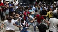 Schlägerei unter Flüchtlingen auf Kos