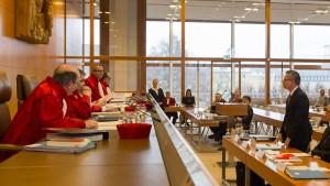 Rettung nur mit Zustimmung des Bundestages