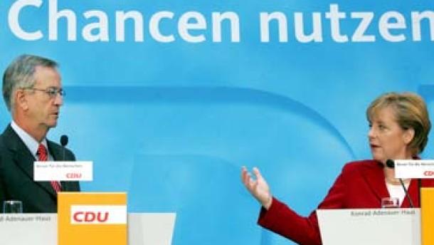 Merkel präsentiert von Pierer als Chefberater