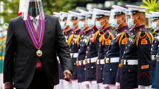 Manila zieht Kündigung von Militärabkommen mit den USA zurück