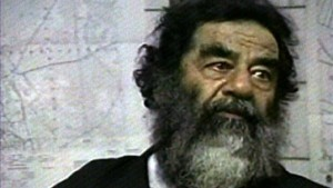 Saddam Hussein hat seine Anhänger vor Al Qaida gewarnt