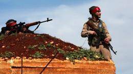 Kurdenbastion Afrin eingekesselt