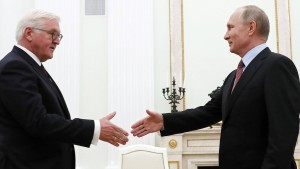 Steinmeier wirbt für Annäherung zwischen Moskau und Berlin