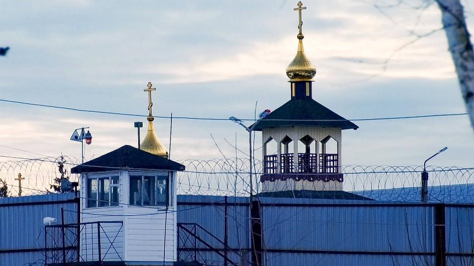 Das Straflager IK-2 in Prokrow, in das der Kremlkritiker Nawalnyj nach seiner Verurteilung im Februar gebracht wurde