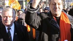 Neue Hoffnung: Kutschma trifft Juschtschenko