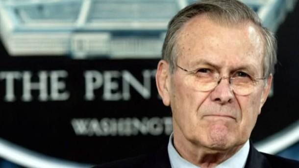 Donald Rumsfeld gestorben