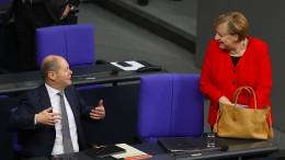 Merkel bangt um Koalition mit SPD