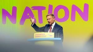 "Lindner will ""liberale Wachstumsstrategie"""