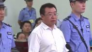 Jiang Tianyong am Dienstag vor Gericht