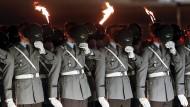 Die drastischen Rituale der Bundeswehr
