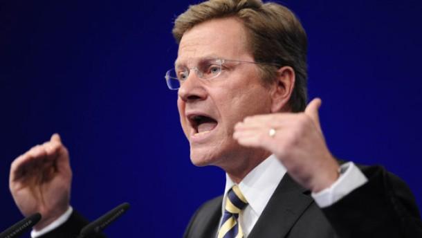 Westerwelle fordert faire Steuern