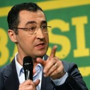 Der Grünen-Vorsitzende und Spitzenkandidat Cem Özdemir