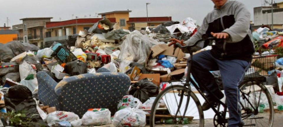 Italien Der Müll Von Neapel Ausland Faz