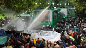 Bahn: Polizeieinsatz in Stuttgart war nicht notwendig