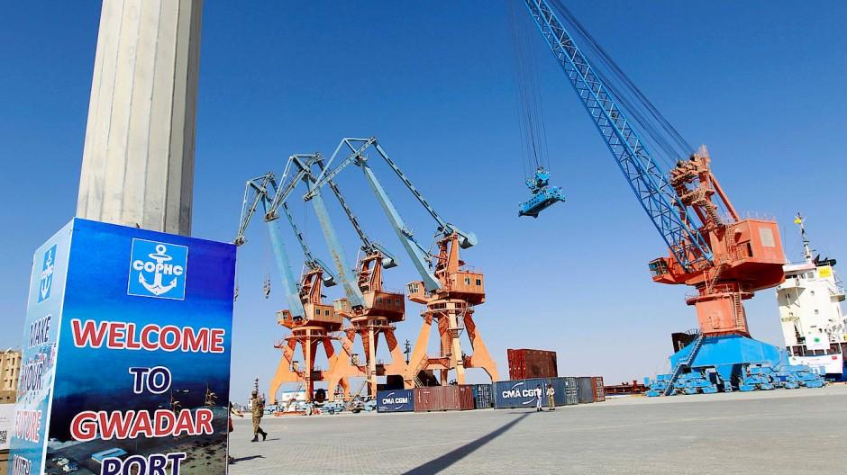 Der Hafen von Gwadar in Pakistan soll Chinas Tor zum Persischen Golf werden