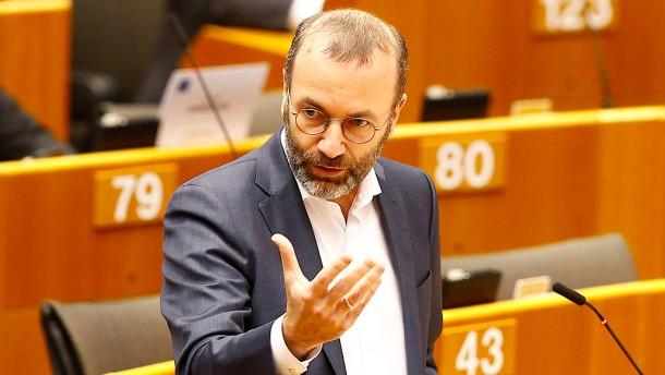 Kampfabstimmungen gegen Manfred Weber?