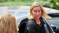Die italienische Außenministerin Federica Mogherini gilt derzeit als aussichtsreichste Kandidatin für das Amt des Hohen Vertreters für die Außen- und Sicherheitspolitik