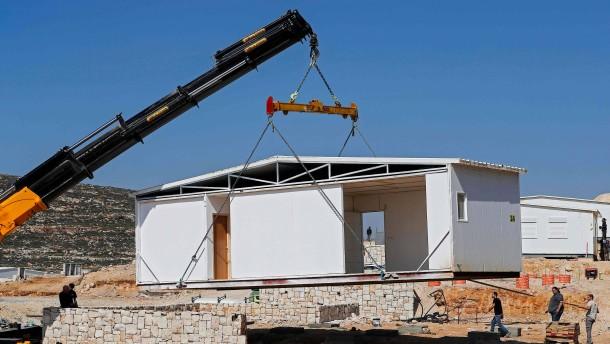 Israel kündigt Bau von 3900 neuen Siedlerwohnungen an