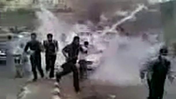 Eskalation zwischen Demonstranten und Regime