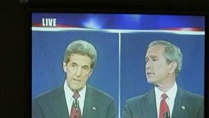 Bush und Kerry liefern sich harten Schlagabtausch