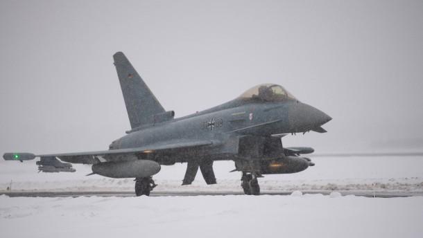 Deutsche Kampfflugzeuge steigen zu 30 Alarmeinsätzen auf