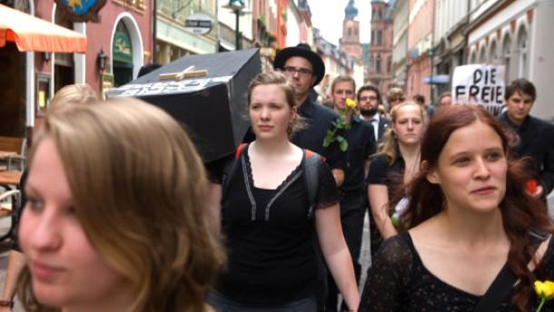 Im Basislager des studentischen Protests