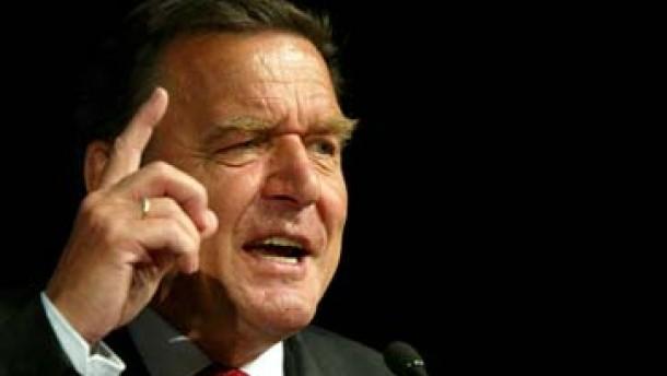 Hartz IV: Schröder prangert Populismus an